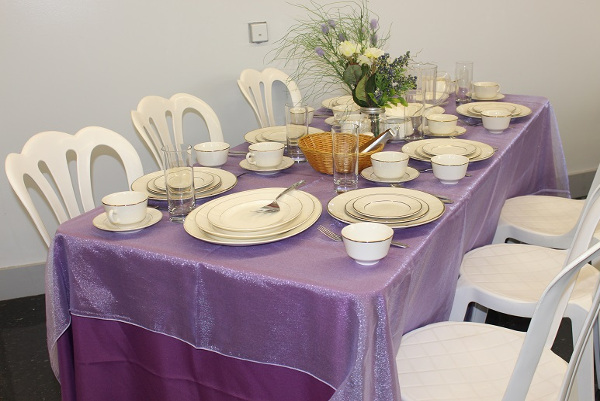 Lilac Table