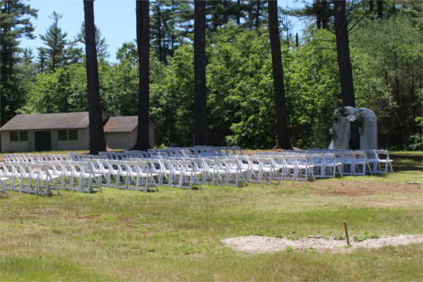 Outdoor Ceremony at Bear Brook