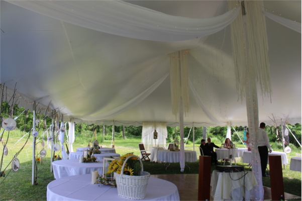 Summer Wedding Tent
