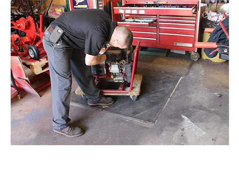 Equipment service and repair in Concord NH
