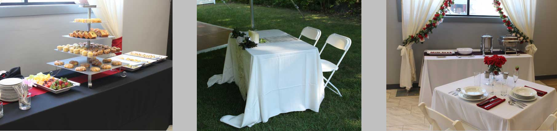Event rentals in all of New Hampshire