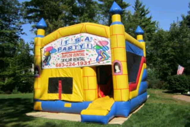 Where to find INFLATABLE 3-N-1 CASTLE in Concord