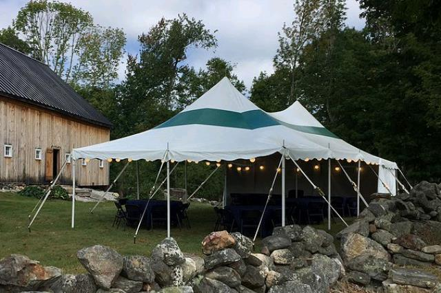 Where to find 20x40 CenturyMate Pole Tent - Wht Grn in Concord