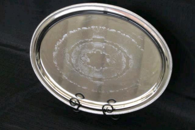 Where to find Tray  Stainless Oval 12  x 16 in Concord