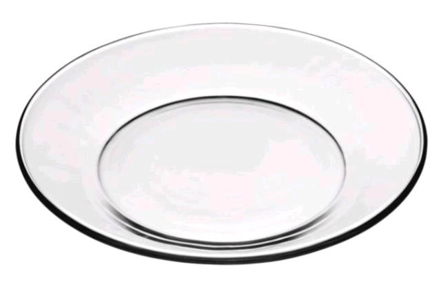 Where to find Luncheon Plate  Clear Glass in Concord