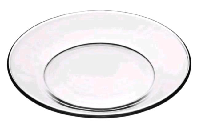 Where to find Salad Plate  Clear Glass in Concord