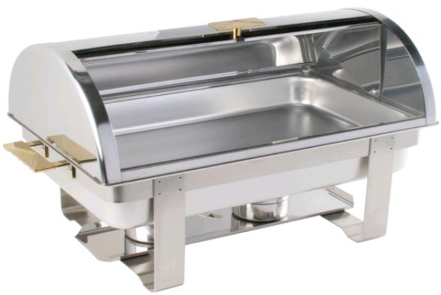 Where to find Chafer  Stainless with Rolltop Lid in Concord