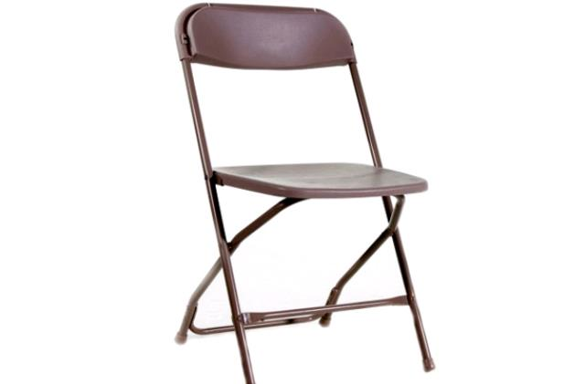 Where to find Chair - Brown Plastic in Concord