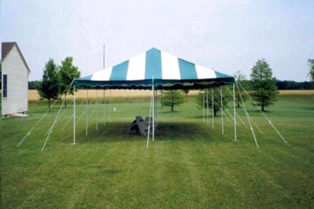 Where to find 20X20 Canopy Green   White in Concord