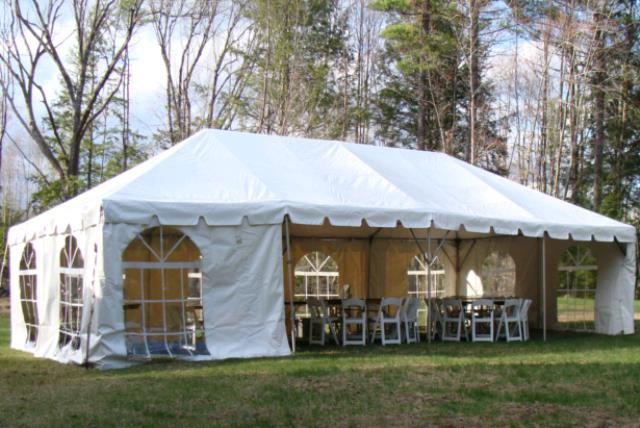 Where to find 20x40 Frame Tent - White in Concord