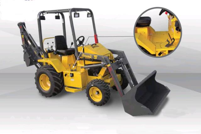 Where to find TRACTOR BACKHOE 25HP GAS in Concord