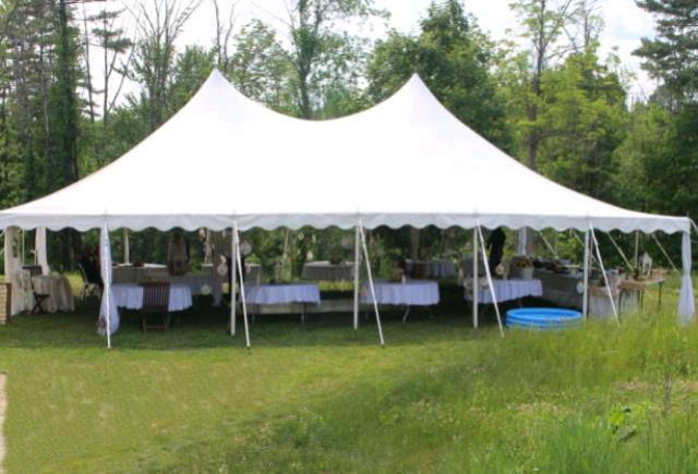 Where to find 30x45 CenturyMate Exp Pole Tent - White in Concord