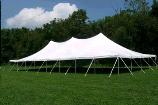 40x80 Party Exp Pole Tent White Rentals Concord Nh Where