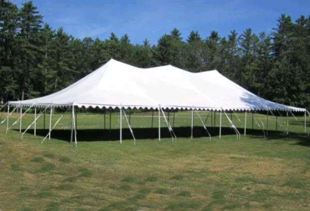 Where to find 40x80 Party Exp Pole Tent - White in Concord