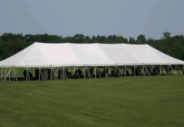 Where to find 40x120 Party Exp Pole Tent - White in Concord