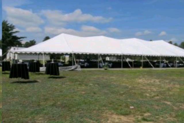 Where to find 40x100 Party Exp Pole Tent - White in Concord