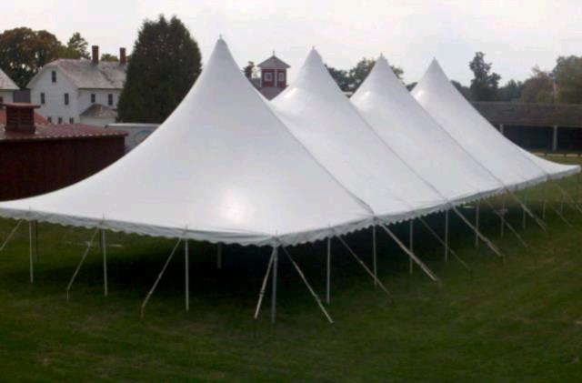 Where to find 40x100 CenturyMate Exp Pole Tent - White in Concord