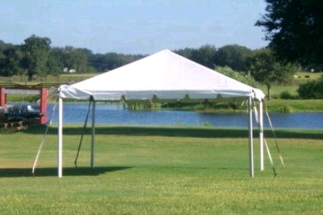 Where to find 14x14 Frame Tent - White in Concord