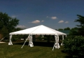 Rental store for 30x30 Navi Trac Frame Tent - White in Concord NH