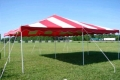 Rental store for 20X20 Canopy Pkg Red   White in Concord NH